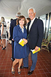 MICHAEL & PILAR BOXFORD at the 3rd day of the 2009 Glorious Goodwood racing festival held at Goodwood Racecourse, West Sussex on 30th July 2009.