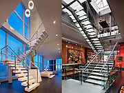 Left: Penthouse, Baccarat, NYC<br /> Right, Private Home, Tribeca