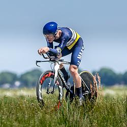 EMMEN (NED) June 16: <br />CYCLING <br />Dutch Nationals Time Trail men U23 Joost Buters