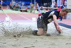 Kasper Larsen. Danske Mesterskaber 2018 (Inde) i Spar Nord Arena, Skive, Denmark, 17.02.2018. Photo Credit: Allan Jensen/EVENTMEDIA.