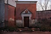 Chiesa sconsacrata all'interno dell'ex fabbrica Sapio. Bari, 07 gennaio 2014. Christian Mantuano / OneShot