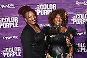 Premiere van The Color Purple in het NDSM theater, Amsterdam<br /> <br /> op de foto:  Gerda Havertong