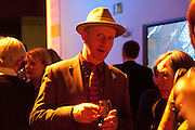BOB AND ROBERTA SMITH, Gauguin, Tate Modern. London. 28 September 2010. -DO NOT ARCHIVE-© Copyright Photograph by Dafydd Jones. 248 Clapham Rd. London SW9 0PZ. Tel 0207 820 0771. www.dafjones.com.