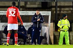 Bristol Rovers manager Graham Coughlan - Mandatory by-line: Dougie Allward/JMP - 13/11/2019 - FOOTBALL - Memorial Stadium - Bristol, England - Bristol Rovers v Swindon Town - Leasing.com Trophy