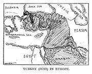 Turkey (Just) in Europe.
