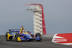 March 23, 2019 - Austin, Texas, U.S - Andretti Autosport driver Alexander Rossi (27) of United States in action during the practice round at the Circuit of the Americas racetrack in Austin,Texas. (Credit Image: © Dan Wozniak/ZUMA Wire)