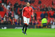 Radamel Falcao of Manchester United returns to the bench - Manchester United vs. Hull City - Barclay's Premier League - Old Trafford - Manchester - 29/11/2014 Pic Philip Oldham/Sportimage