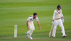 James Franklin of Middlesex bowls.  - Mandatory by-line: Alex Davidson/JMP - 10/07/2016 - CRICKET - Cooper Associates County Ground - Taunton, United Kingdom - Somerset v Middlesex - Specsavers County Championship Division One