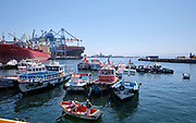 Harbour of Valparaíso, Chile