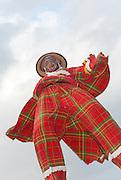 Performer on stilts Photographed in St Croix, US Virgin Islands