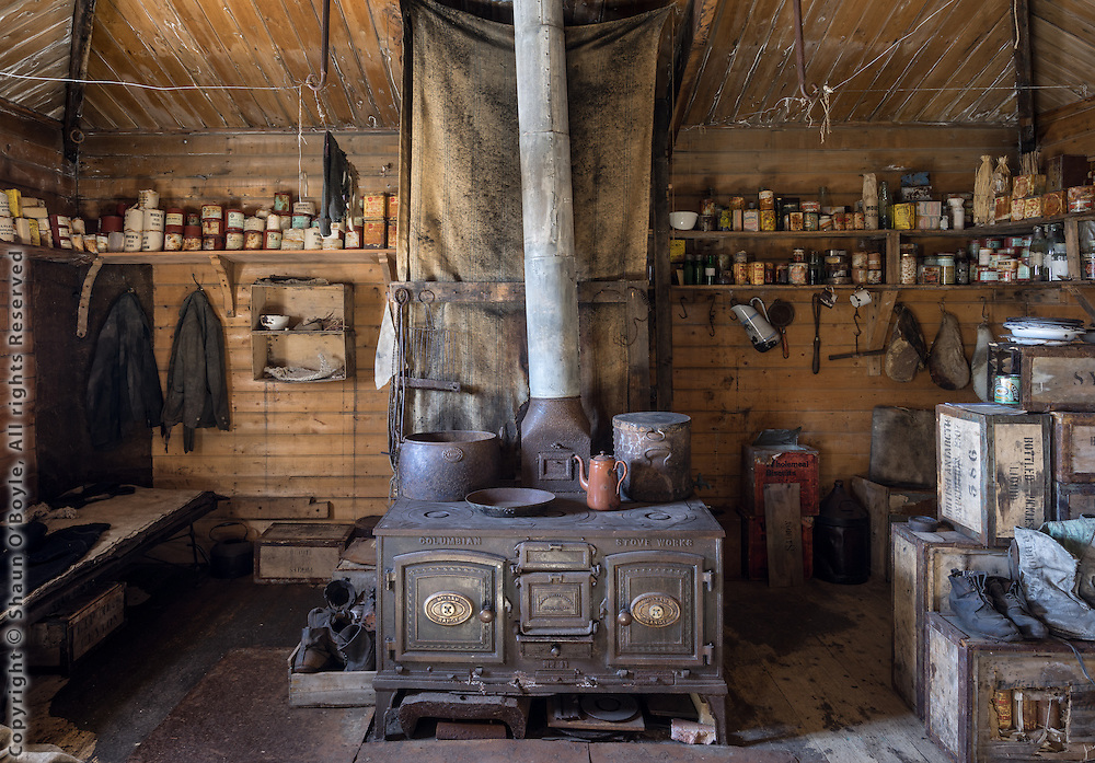 Shackleton's Hut #4, Cape Royds, Antarctica