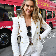 Maja Malnar from Slovenia attend The Mayor of London, Sadiq Khan, launch a branded 'We are all Londoners' bus as it begins a four-day 'Advice Roadshow' around the capital. The bus will visit locations in areas with high numbers of European nationals, offering them guidance on how to apply for Settled to Status to remain in the UK following Brexit on 29 March 2019, London, UK.