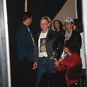 Big Brother 2000, Miranda verlaat het huis, man blauw hemd vermoedelijk vriend Karel