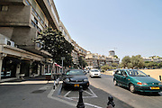 Israel. Tel Aviv, Kikar Hamedina, Hamedina circle, Exclusive shopping district June 2008