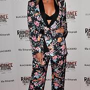 Laura Crane attend Blackbird - World Premiere with Michael Flatley at May Fair Hotel, London, UK. 28th September 2018.