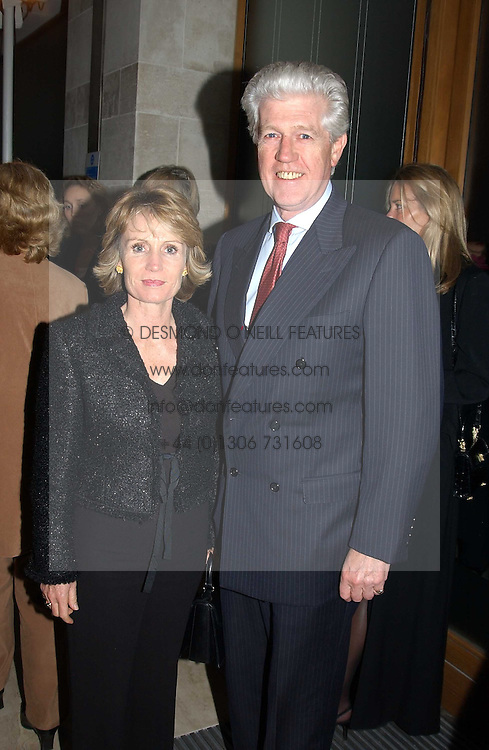 MR & MR EDWARD ASPREY at a fashion show of the new fashion label Chester Bonham held at the Aston Martin Showroom, Park Lane, London on 15th November 2004.<br /><br />NON EXCLUSIVE - WORLD RIGHTS