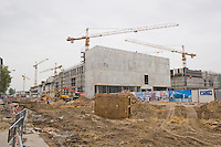 Galeria Krakowska under construction in 2005 in Krakow Poland