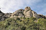 Montserrat Mountain, Catalonia, Spain
