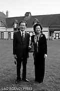 Mr l'ambassadeur de la Corée et madame