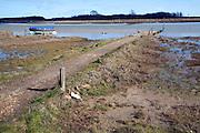 Jetty for Butley Ferry, Butley Creek river, Boyton, Suffolk