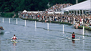 FISA World Cup 1990's, Henley Royal Regatta..Diamonds winner left Thomas LANGE, GER M1X [DDR] and Vaclav CHALUPA CZE M1X, FISA World cup events Lucerne and HRR Pictures from the first World Cup events, Men's and Women's singles Rowing Course: Henley Reach 1990/91 FISA World Cup Lucerne and