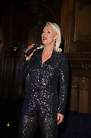 """Friederike Krum after party celebrating the launch of her album """"Somebody Loves Me: The Songs Of Gershwin"""" at Tramp on February 06, 2020 iLondon, England"""