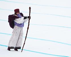 08.02.2011, Kandahar, Garmisch Partenkirchen, GER, FIS Alpin Ski WM 2011, GAP, Lady Super G, im Bild Unterhaltungsprogramm, eröffnung // Entertainment, opening during Women Super G, Fis Alpine Ski World Championships in Garmisch Partenkirchen, Germany on 8/2/2011, 2011, EXPA Pictures © 2011, PhotoCredit: EXPA/ J. Feichter