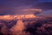 Thunderstorm high-altitude