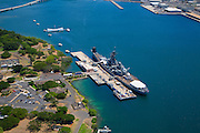 USS Missouri and USS Arizona, Pearl Harbor, Honolulu, Oahu, Hawaii