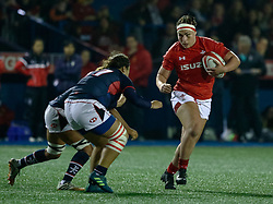 Amy Evans of Wales Women<br /> <br /> Photographer Simon King/Replay Images<br /> <br /> Friendly - Wales Women v Hong Kong Women - Friday  16th November 2018 - Cardiff Arms Park - Cardiff<br /> <br /> World Copyright © Replay Images . All rights reserved. info@replayimages.co.uk - http://replayimages.co.uk