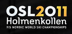 23/02/2011 OSLO 2011 - FIS NORDIC WORLD SKI CHAMPIONSHIPS .OSLO 2011 Logo .© Photo Pierre Teyssot / Sportida.com.