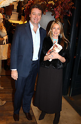 Handbag designer ANYA HINDMARSH and her husband JAMES at Polo Ralph Lauren's Pink Pony Party to launch it's Pink Pony Collection in aid of Cancer Research UK, held at their Fulham Road Store, London on 13th October 2004.<br /><br /> UKNON EXCLUSIVE - WORLD RIGHTS