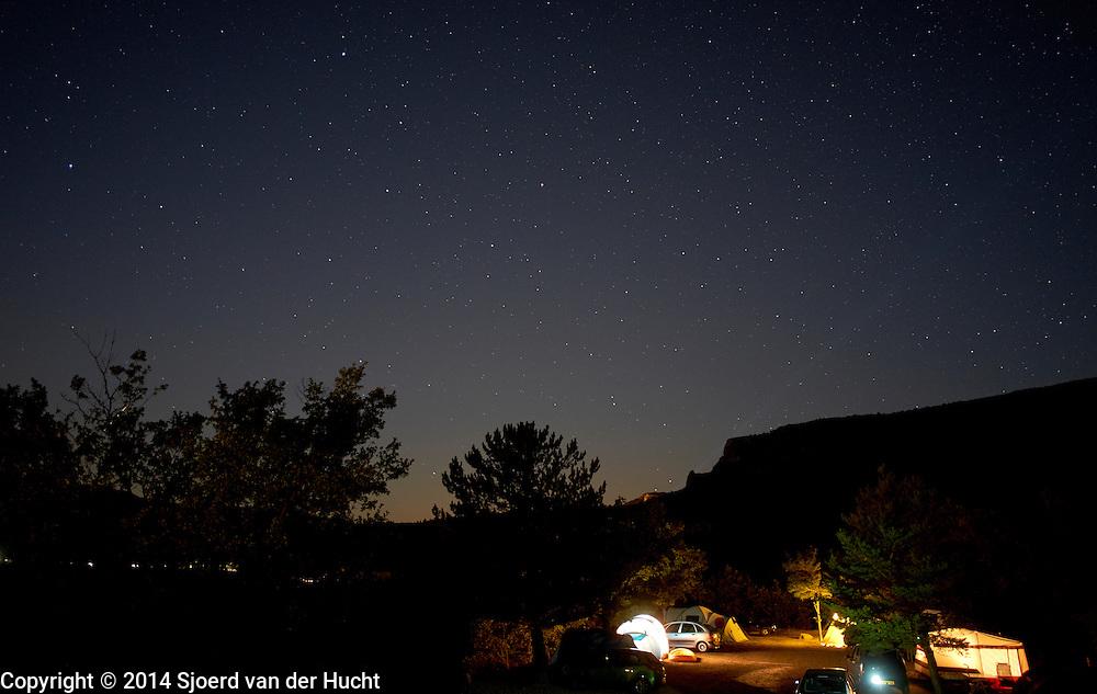 Sterrenlucht, Frankrijk 2014 - <br /> sky with stars, France 2014