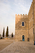 Exterior of the Beit Jamal Monastery<br /> The Salesian monastery of Beit Jamal was originally established as an agricultural school in 1881 and later operated as a medical facility. While there is a small group of nuns at Beit Jamal ? they do not belong to the Salesian Sisters, but rather to the Sisters of Bethlehem, of the Assumption of the Virgin and of Saint Bruno. These nuns have taken a vow of silence.
