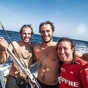 Leg 02, Lisbon to Cape Town, day 09, on board MAPFRE. Photo by Ugo Fonolla/Volvo Ocean Race. 13 November, 2017