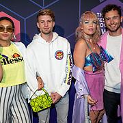 NLD/Amsterdam/20190613 - Inloop uitreiking De Beste Social Awards 2019, ....., .........  Amanda van Effrink en Thomas Cox