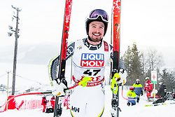 February 8, 2019 - Re, SWEDEN - 190208 Alexander KÅ¡ll of Sweden at the downhill training during the FIS Alpine World Ski Championships on February 8, 2019 in re  (Credit Image: © Daniel Stiller/Bildbyran via ZUMA Press)