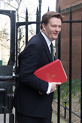 © Licensed to London News Pictures. 10/03/2015. London, UK. Danny Alexander arrives for a cabinet meeting at 10 Downing Street in London on Tuesday 10th March 2015. Photo credit : Vickie Flores/LNP