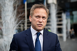 © Licensed to London News Pictures. 10/12/2018. London, UK. Grant Shapps MP leaves the Park Plaza Hotel in London, where politicians were attending the 'Conservative Friends Of Israel' annual lunch. Photo credit : Tom Nicholson/LNP