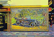 "Seville Spain 1990, a Studebaker ""billboard"" made of tiles"