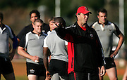 Head Coach Ric Suggitt during the Canada rugby team training session, Auckland, New Zealand on Monday 11 June 2007. Photo: Hagen Hopkins/PHOTOSPORT