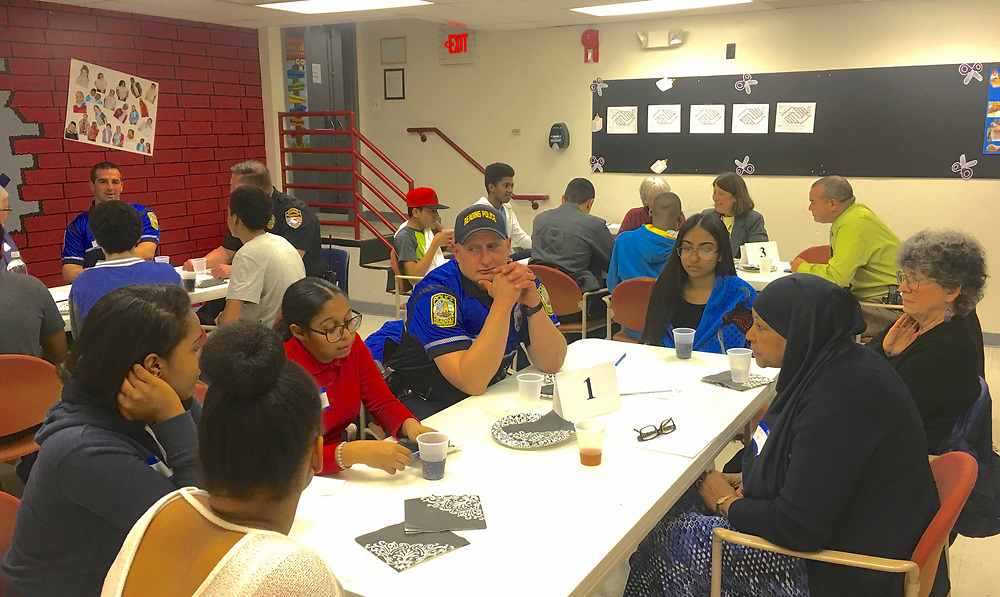 Police and City Teens Dialogue, Olivet Boys and Girls Club, Reading, PA