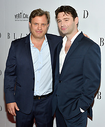 L-R: Director Michael mailer and actor/writer John Buffalo Mailer attend the NY premiere of Blind at the Landmark Sunshine Cinemas in New York, NY on June 26, 2017.  (Photo by Stephen Smith) *** Please Use Credit from Credit Field ***