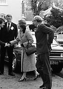 29 November 1979<br /> <br /> Jack Lynch at EEC summit with Margaret Thatcher.
