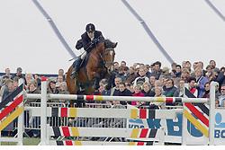 Schepers Jeroen-Sissi vd Lowlands<br /> Nationaal kampioenschap LRV - Waasmunster 2004<br /> Photo © Hippo Foto