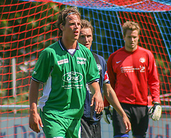 FODBOLD: Dimitri de Martignac (Helsingør) under kampen i Kvalifikationsrækken, pulje 1, mellem Elite 3000 Helsingør og Nivå-Kokkedal FK den 6. august 2006 på Helsingør Stadion. Foto: Claus Birch