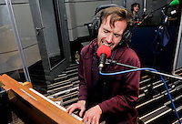 Dutch Uncles in session for the Marc Riley show on Radio 6 Music for BBC.