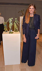 Georgiana Anstruther at a private view of recent work by Georgiana Anstruther held at the Sladmore Gallery, 32 Bruton Place, London England. 08 November 2018. <br /> <br /> ***For fees please contact us prior to publication***