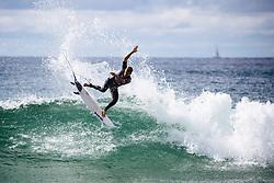 Matt Banting AUS at the 2019 Vissla Manly Surf Pro at Manly Beach, NSW, Australia.