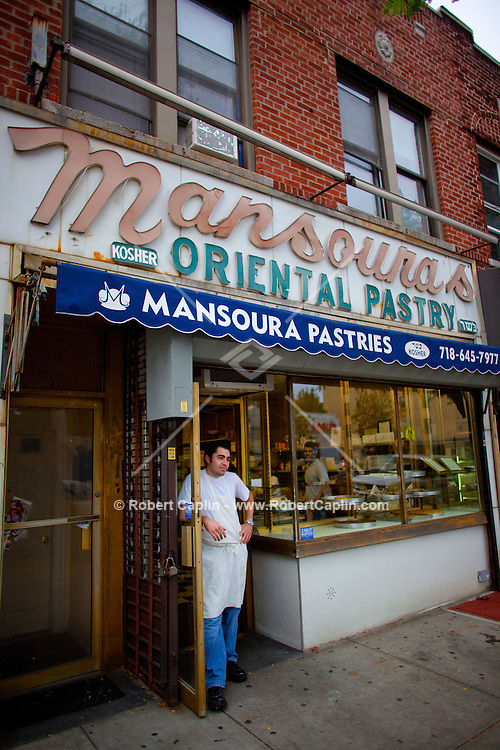 Jack Mansoura of Mansoura's in Brooklyn, NY on Tuesday, Sept. 22, 2009. ..Robert Caplin For The Wall Street Journal